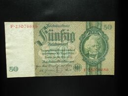 ALLEMAGNE * : 50 REICHSMARK   30.3.1933    CA 175c, **/ P 182a      SUP - 1933-1945: Drittes Reich
