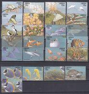 Liberia 1998 - Mi.Nr. 2127 - 2185 + Block 186 + 189 - Postfrisch MNH - Tiere Animals Fische Fishes - Fische