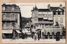 X65301 BAGNERES De BIGORRE (65) Café De Paris Rue Des THERMES COUSTOUS Hautes Pyrénées 08.01.1910 - LABOUCHE 361 - Bagneres De Bigorre
