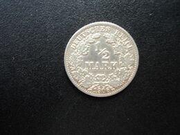 ALLEMAGNE * :  1/2 MARK   1906 A    KM 17     TTB - [ 2] 1871-1918: Deutsches Kaiserreich