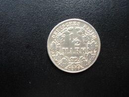 ALLEMAGNE * :  1/2 MARK   1906 D    KM 17     SUP - [ 2] 1871-1918: Deutsches Kaiserreich