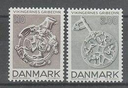 PAIRE NEUVE DU DANEMARK - PIECES ARTISTIQUES DU 8EME SIECLE N° Y&T 689/690 - Other