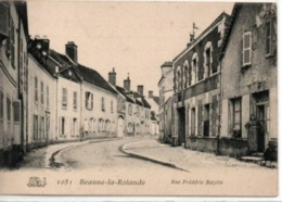 Beaune-la-Rolande-Rue Frédéric Bazille - Beaune-la-Rolande