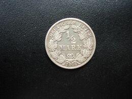 ALLEMAGNE * :  1/2 MARK   1906 G    KM 17     SUP - [ 2] 1871-1918: Deutsches Kaiserreich