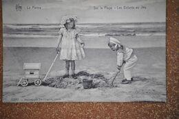 3419/ La Panne - Les Enfants Au   Jeu - De Panne