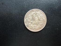 ALLEMAGNE * :  1/2 MARK   1911 G     KM 17     SUP+ - [ 2] 1871-1918: Deutsches Kaiserreich
