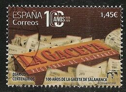 2020-ED. 5425 - Diarios Centenarios. 100 Años De La Gaceta De Salamanca - USADO - 1931-Aujourd'hui: II. République - ....Juan Carlos I