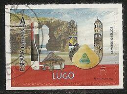 2020-ED. 5369 - 12 Meses, 12 Sellos. LUGO - USADO- - 1931-Aujourd'hui: II. République - ....Juan Carlos I
