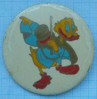 USSR / Badge / Soviet Union / Scrooge McDuck . Disney. 1970s - Disney