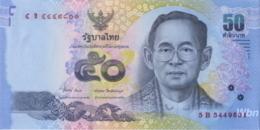 Thailand 50 Baht (P119) Sign 84 -UNC- - Thailand