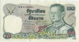 Thailand 20 Baht (P88) Sign 62 -UNC- - Thailand