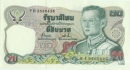 Thailand 20 Baht (P88) Sign 72 -UNC- - Thailand