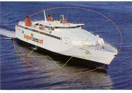 Maalboot - Seastar - Jetfoil - Ferry - Seacat - R.M.T. Boeing (echte Foto's) Oostende - Ostende - Ostend (DOOS 6) - Boten