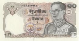 Thailand 10 Baht (P87) Sign 66 -UNC- - Thailand