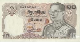 Thailand 10 Baht (P87) Sign 57 -UNC- - Thailand