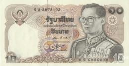 Thailand 10 Baht (P87) Sign 55 -UNC- - Thailand