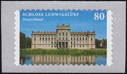 3128 Burgen Und Schlösser: Schloss Ludwigslust Selbstklebend Von Der Rolle ** - Unclassified