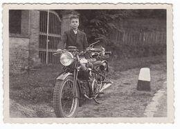 MOTOCICLETTA  MOTO GUZZI  -  GUZZI MOTORCYCLE - FOTOGRAFIA  ORIGINALE - Automobili