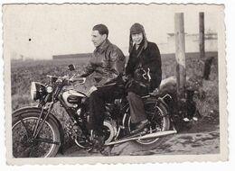 """MOTOCICLETTA """" MOTO GUZZI """"  - GUZZI   MOTORCYCLE - FOTOGRAFIA  ORIGINALE - Automobili"""