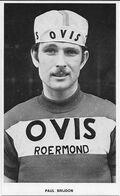 CARTE CYCLISME PAUL BRIJDON TEAM OVIS 1973 - Wielrennen