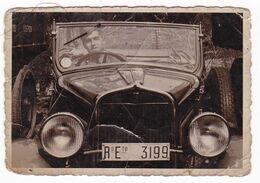 AUTOMOBILE NON IDENTIFICATA  - CAR  - TARGA  REGIO ESERCITO - FOTO ORIGINALE 1940 - Automobili