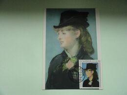 CARTE MAXIMUM CARD THE MODEL FOR THE BAR OF THE FOLIES BERGERES BY EDOUARD MANET EQUATEUR - Impressionisme