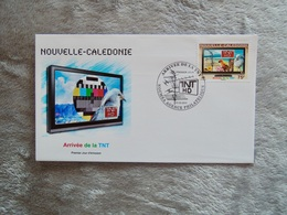 """FDC : Enveloppe 1er Jour """"Arrivée TNT"""" - Covers & Documents"""