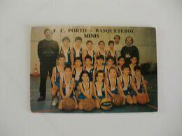 Sports Basketball Basquetebol F. C. Porto Minis Portugal Portuguese Pocket Calendar 1990 - Klein Formaat: 1981-90