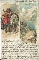 Types De Russie/Russische Typen,Tscherkesessenhüte 1901 - Rusia