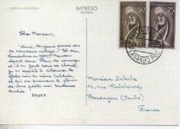 PUBLICITE ALIMENTAIRE AMORA  TIMBRE FERNANDO  POO  CARTE - Publicité