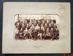 Photo Lycée De Gap. 1905. De JONGH Fres' FREON Sr. 106, Avenue Du Roule,Neuilly-Paris. Dimensions De La Photo Seul 23 Cm - Geïdentificeerde Personen