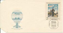 Czechoslovakia Cover Balloonpost PRAGAS 68 19-22/6-1967 Good Stamped - Czechoslovakia