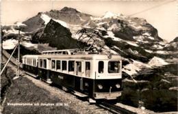 Wengernalpbahn Mit Jungfrau (983) * 8. 8. 1956 - BE Berne