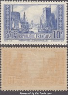 10Fr La Rochelle Type II Neuf * TB Et Bien Centré (Y&T N° 261c , Cote: +200€) - Unused Stamps
