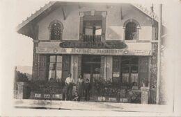 ROMILLY SUR SEINE - LE CAFE RESTAURANT DE LA GARE - TRES BELLE CARTE - PHOTO - ANIMEE - PEU COURANTE -  TOP !!! - Romilly-sur-Seine