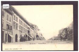 ROMONT - GRANDE RUE - B ( GRATTAGE DANS LE CIEL ) - FR Fribourg