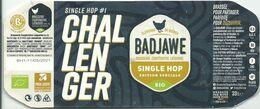 étiquette Décollée Challenger Brasserie Coopérative Liège - Beer