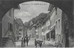 SUISSE - Canton Du Jura - St URSANNE - Saint - Un Intérieur De La Ville - - JU Jura