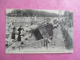 44 ANCENIS CONCOURS DE GYMNASTIQUE JUIN 1912 SALUT AU DRAPEAU - Ancenis