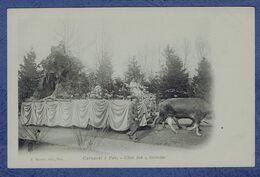 CPA PYRENEES-ATLANTIQUES (64) - CARNAVAL A PAU - CHAR DES QUATRE SAISONS - Pau