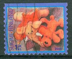 Bm Finland 2005 MiNr 1728 Used   Toys. Elephant And Dog - Finland
