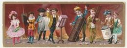 BELLE CHROMO Chocolat SUCHARD   +/- 1891   Grand Format    Serie 25  Orchestre  Victorian Trade Card - Suchard