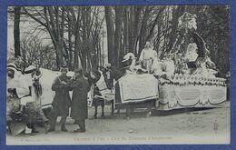 CPA PYRENEES-ATLANTIQUES (64) - CARNAVAL A PAU - CHAR DU TRIOMPHE D'AMPHITRITE - Pau