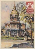 Carte Maximum - Journée Du Timbre  Les Grands Invalides De Guerre - 1940-49