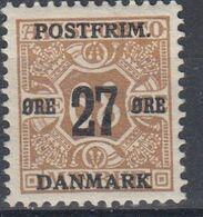 +M524. Denmark 1918. Provisorie. AFA 94. Michel 93. MNH(**) - 1913-47 (Christian X)