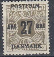+M525. Denmark 1918. Provisorie. AFA 85. Michel 94Y. MNH(**) - 1913-47 (Christian X)