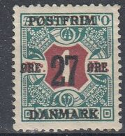 +M526. Denmark 1918. Provisorie. AFA 95. Michel 94. MNH(**) - 1913-47 (Christian X)