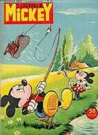 LE JOURNAL DE MICKEY (aprés Guerre) N° 52 De 1953 - Journal De Mickey