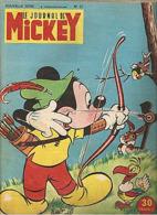 LE JOURNAL DE MICKEY (aprés Guerre) N° 57 De 1953 - Journal De Mickey