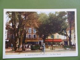 BARCELONNETTE  ( 04 ) N ° 5  La Place MANUEL - Barcelonnette
